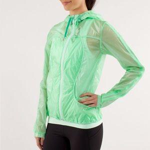 Lululemon Transparent-See Jacket